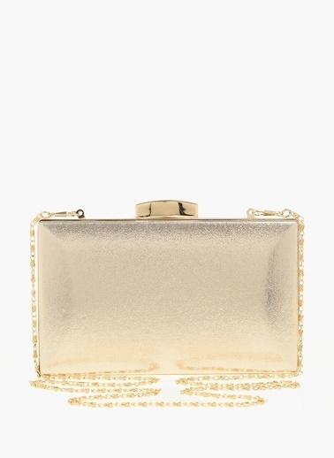 Divarese Messenger / Askılı Çanta Altın
